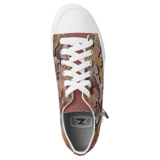 Rose Woods Camo Low-Top Sneakers