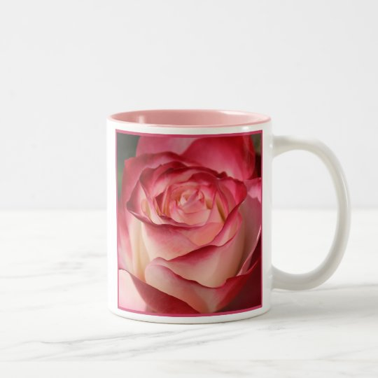 Rose, World's Best Mother Two-Tone Coffee Mug