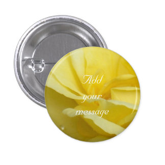 Rose - Yellow Button