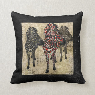 Rose Zebra Shadows MoJo Pillows
