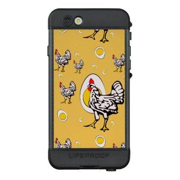 Roseanne Chicken, Retro Chickens LifeProof NÜÜD iPhone 6s Case