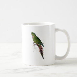 Roseate Parrakeet by Edward Lear Coffee Mug