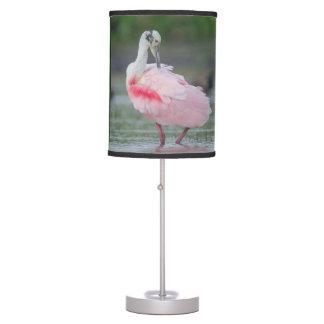 Roseate Spoonbill (Ajaia ajaja) Desk Lamp