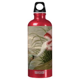 Roseate Spoonbill Aluminum Water Bottle