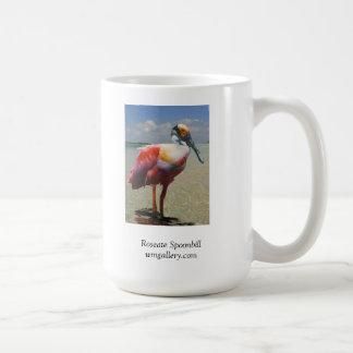 Roseate Spoonbill by William Bock Coffee Mug