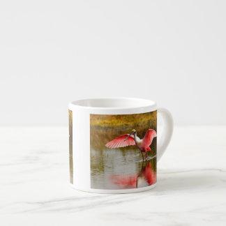 roseate spoonbill espresso cup
