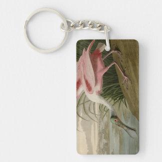 Roseate Spoonbill Acrylic Keychain