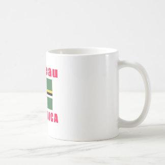 Roseau Dominica capital designs Classic White Coffee Mug