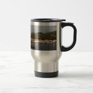 Roseau Dominica 15 Oz Stainless Steel Travel Mug