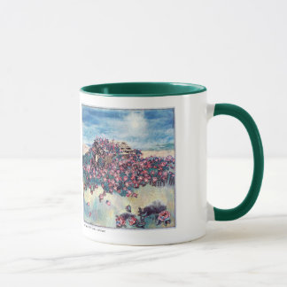 Rosebarn Art Quilt Mug