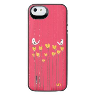 Rosebud Birds Uncommon Power Gallery™ iPhone 5 Battery Case