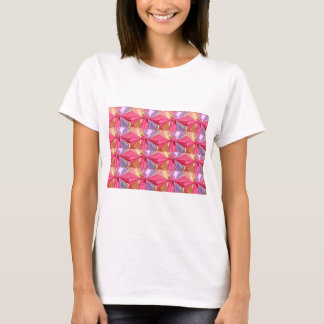 Rosebud Butterfy  Pattern T-Shirt