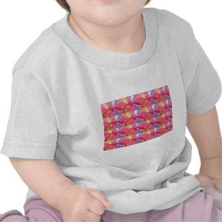 Rosebud Butterfy  Pattern Tee Shirt
