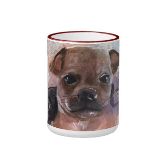 rosebud coffee mug