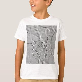 Rosebud Embossed Look T-Shirt