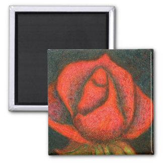 """""""Rosebud""""  Floral Magnet"""