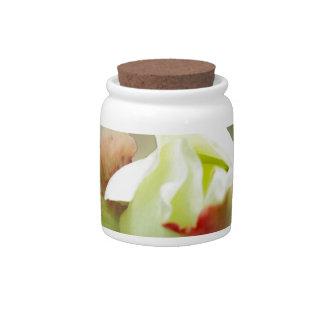 rosebud glowing candy jar