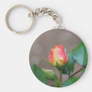 Rosebud Key Chain