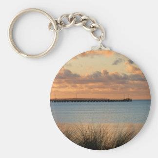 Rosebud Pier Keychains