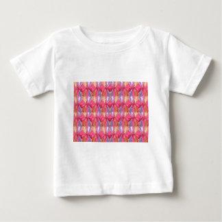 Rosebud Rose Petal Art Spectrum Baby T-Shirt