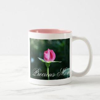 rosebud Two-Tone coffee mug