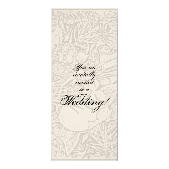 Rosebud Wedding Invitation
