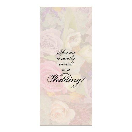 Rosebuds Wedding Invitation