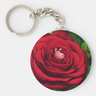 Rosebunny Keychain