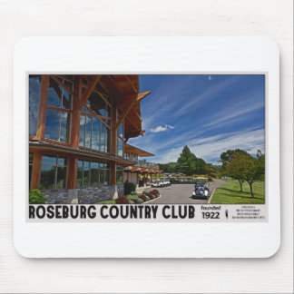 Roseburg Country Club - Clubhouse Mouse Pad