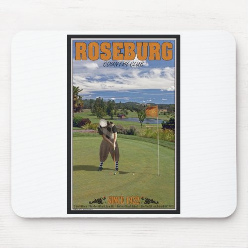 Roseburg Country Club - Putting Mouse Pad