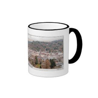 Roseburg Downtown and S Umpqua Ringer Coffee Mug