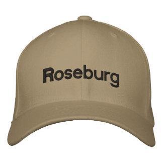Roseburg embroidered hat embroidered baseball cap