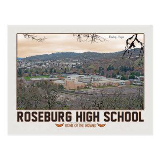 Roseburg High School Postcard
