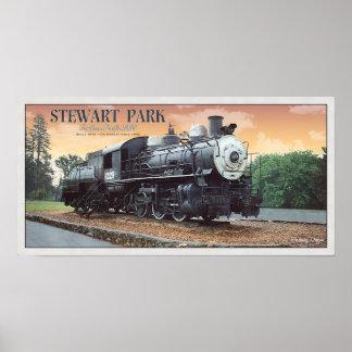 Roseburg SP 1229 Locomotive Poster