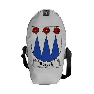 Roseck Family Crest Courier Bag