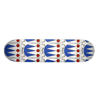 Roseck Family Crest Skateboard Deck