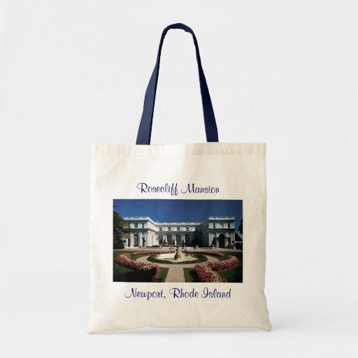 Rosecliff Mansion Newport Rhode Island Tote Bag