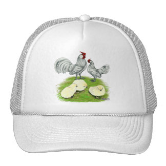Rosecomb Bantams and Chicks Trucker Hat