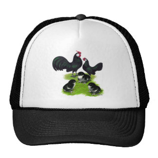 Rosecomb Black Bantam Family Trucker Hat