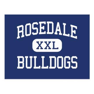 Rosedale Bulldogs Middle Bakersfield Postcard