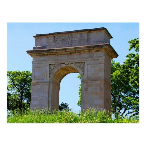 Rosedale World War I Memorial Arch, Kansas City Postcard