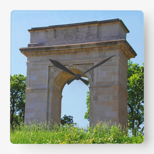 Rosedale World War I Memorial Arch, Kansas City Square Wall Clock