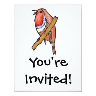 rosefinch bird card