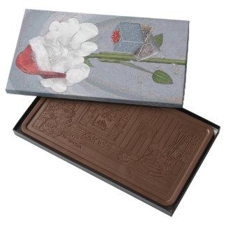Rosegifts Santa Rose Box of Chocolate