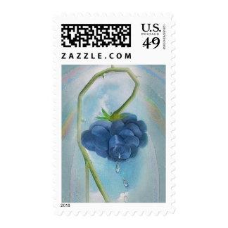Rosegifts Tears Rose postage stamp