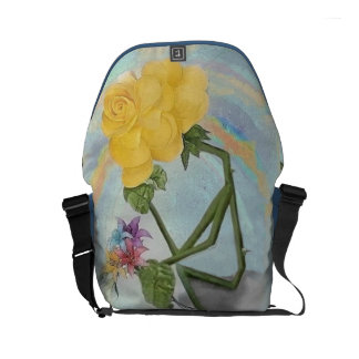 Rosegifts Thinker Rose Small Messenger Bag