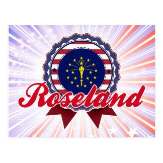 Roseland, IN Post Card