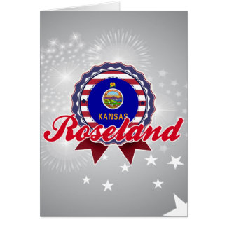 Roseland, KS Greeting Card