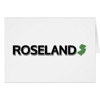 Roseland, New Jersey Card