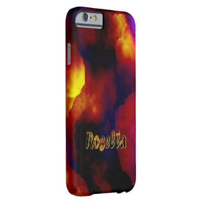 Rosella customized iPhone cover
